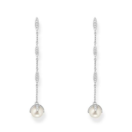 Thomas Sabo Glam & soul drop pearl earrings