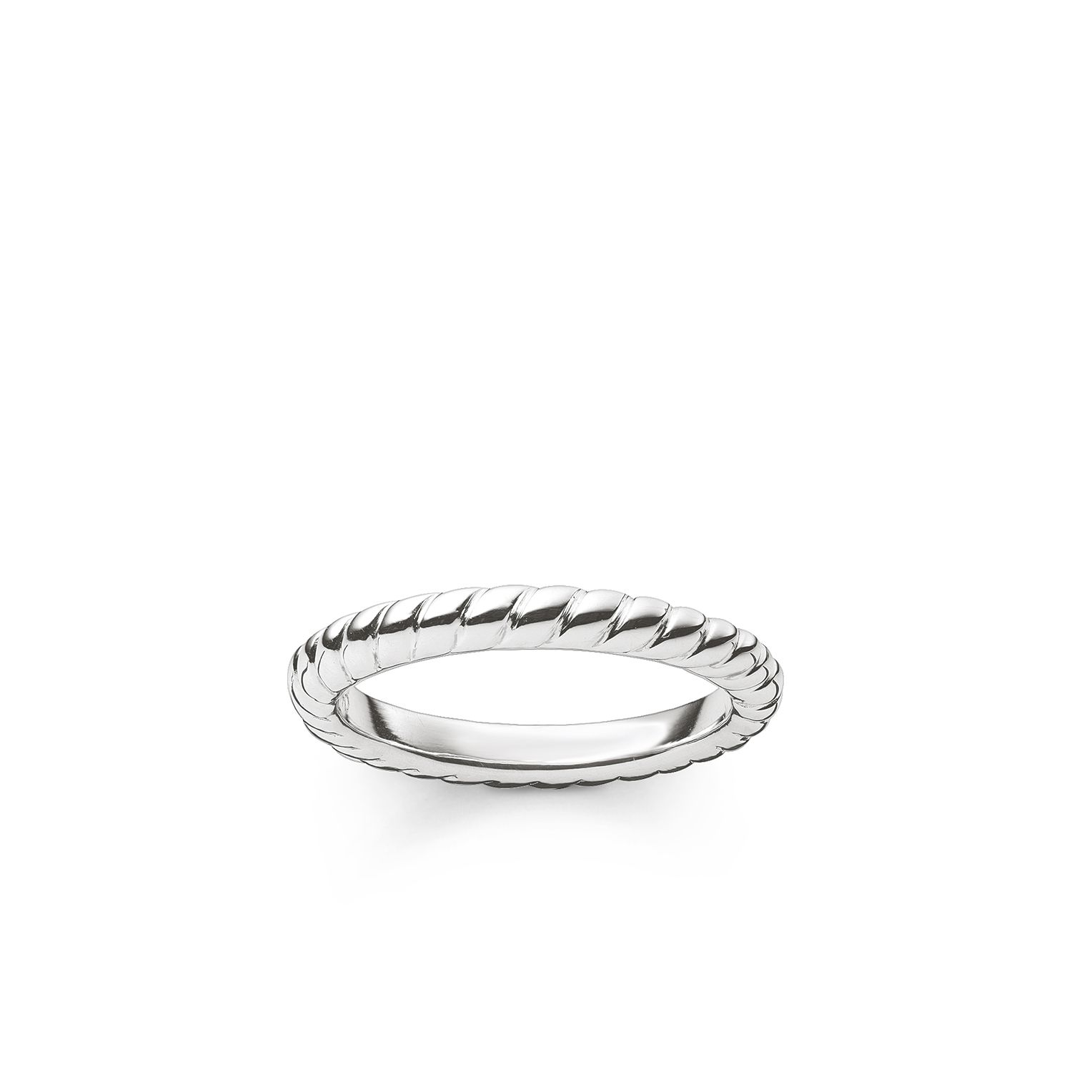 Thomas Sabo My rings roped ring, Silver