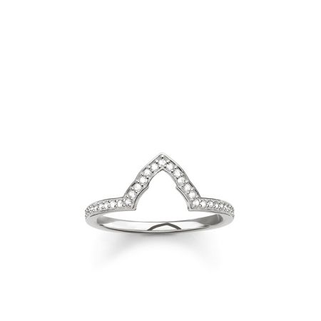 Thomas Sabo Fatima`s garden temple stacking ring