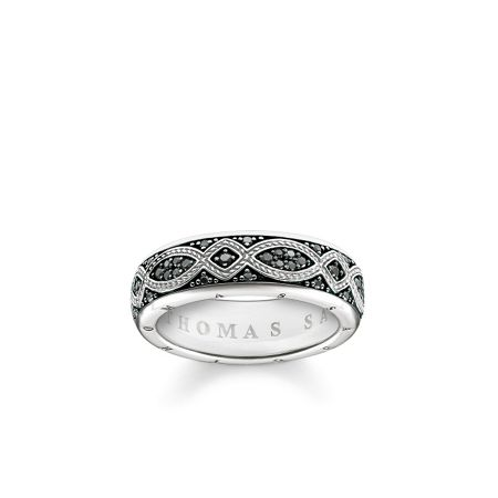 Thomas Sabo Rebel at heart promise ring