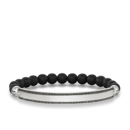 Thomas Sabo Love bridge black zirconia pavé bracelet