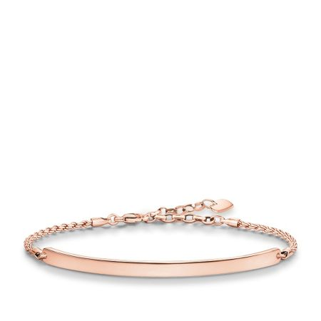 Thomas Sabo Love bridge rose gold plated bracelet