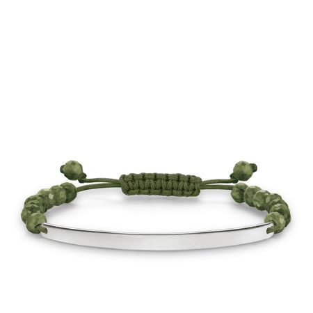 Thomas Sabo Love bridge green tie bracelet