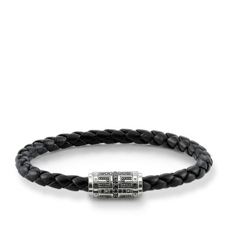 Thomas Sabo Plaited cross unity bracelet