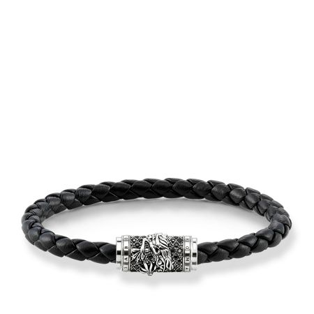 Thomas Sabo Plaited dragon unity bracelet