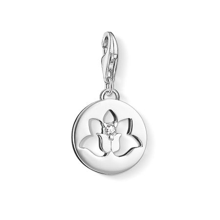 Thomas Sabo Charm club lotus tag charm