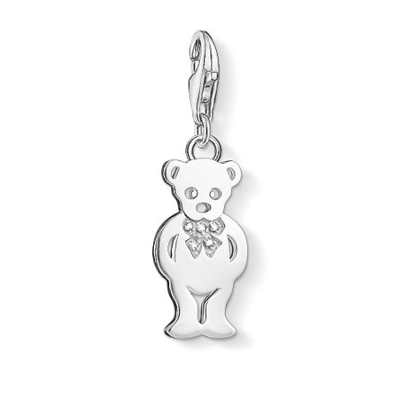 Thomas Sabo Charm club teddy bear diamond charm