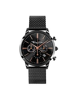 Rebel at heart Black Eternal Rebel Chrono Watch