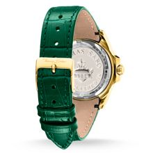 Thomas Sabo Women`s glam chic green gold watch