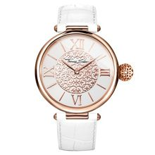 Thomas Sabo Women`s karma arabesque white watch