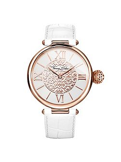 Women`s karma arabesque white watch