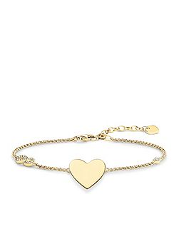 Glam & Soul Heart With Infinity Bracelet
