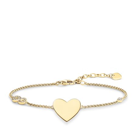 Thomas Sabo Glam & Soul Heart With Infinity Bracelet