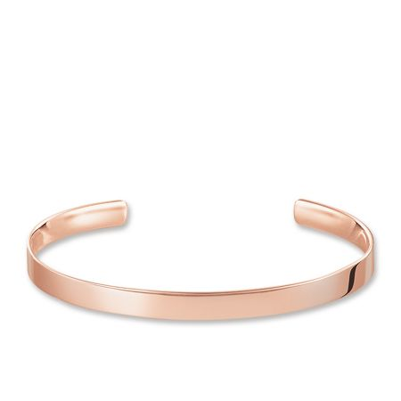 Thomas Sabo 18k  Rose Gold Plated  Love Cuff Bangle