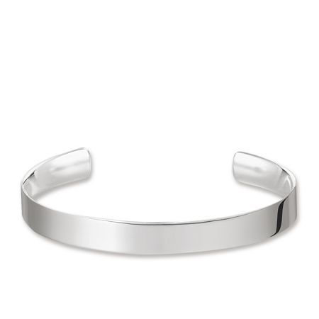 Thomas Sabo Sterling Silver Love Cuff Bangle