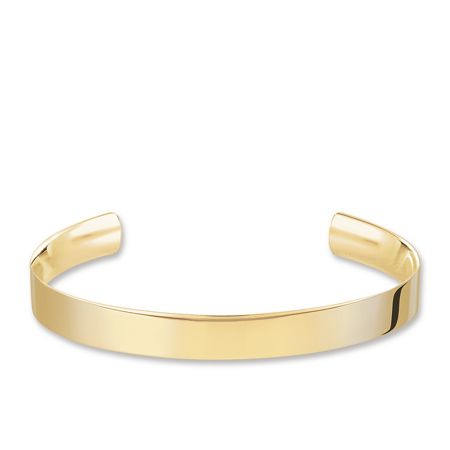 Thomas Sabo 18k Yellow Gold Plated  Love Cuff Bangle
