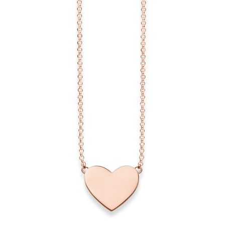 Thomas Sabo Classic Silver Heart Tag Necklace