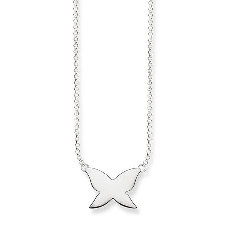 Thomas Sabo Classic Silver Butterfly Necklace