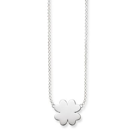 Thomas Sabo Classic Silver Cloverleaf Necklace