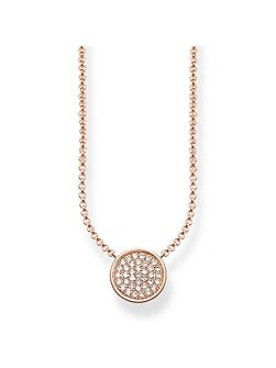 Glam & Soul Sparkling Circles Necklace