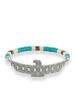 Ethno Eagle Love Bridge Bracelet