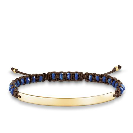 Thomas Sabo Brown Gold Love Bridge Bracelet