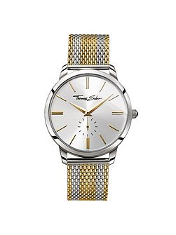Rebel spirit gold bico mesh men`s watch