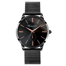 Thomas Sabo Rebel spirit black mesh men`s watch