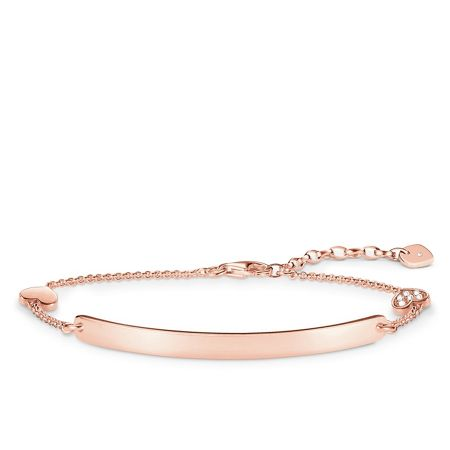 Thomas Sabo Love bridge diamond rose gold bracelet