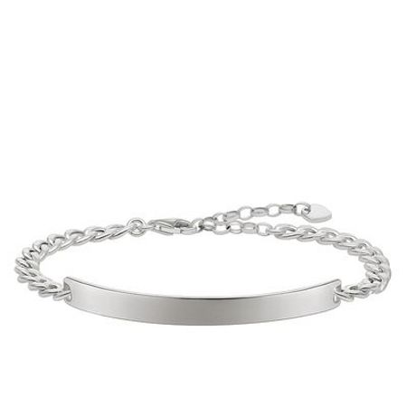Thomas Sabo Love bridge silver engravable bracelet
