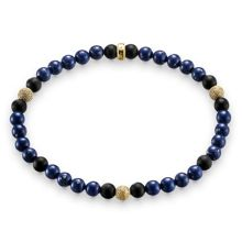 Thomas Sabo Rebel at heart stretch gold bead bracelet