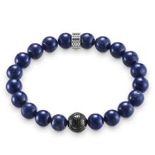 Thomas Sabo Rebel at heart lapis lazuli beads bracelet