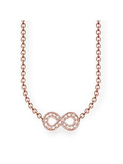 Glam & soul infinity diamond necklace