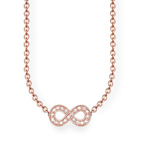 Thomas Sabo Glam & soul infinity diamond necklace
