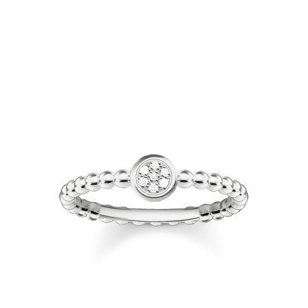 Thomas Sabo Glam & soul silver diamond pavé ring