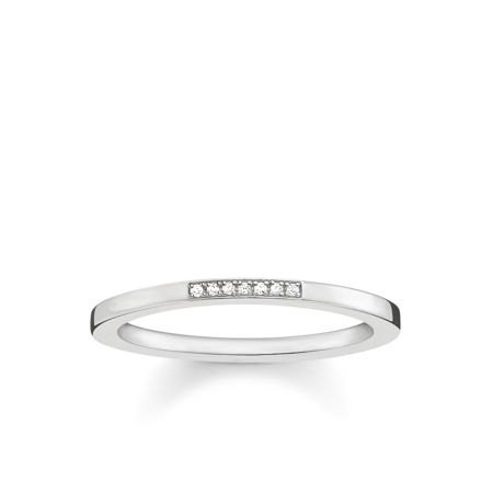 Thomas Sabo Glam & soul silver diamond ring band