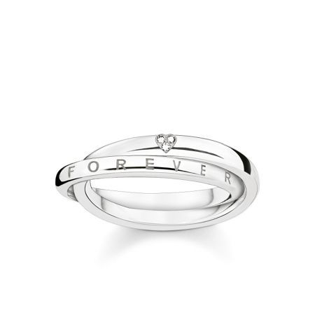 Thomas Sabo Forever intertwined diamond ring