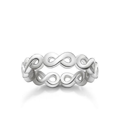 Thomas Sabo Glam & soul silver infinity all around ring