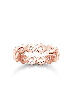 Glam & soul rose infinity all around ring
