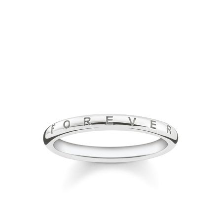Thomas Sabo Forever together silver ring band