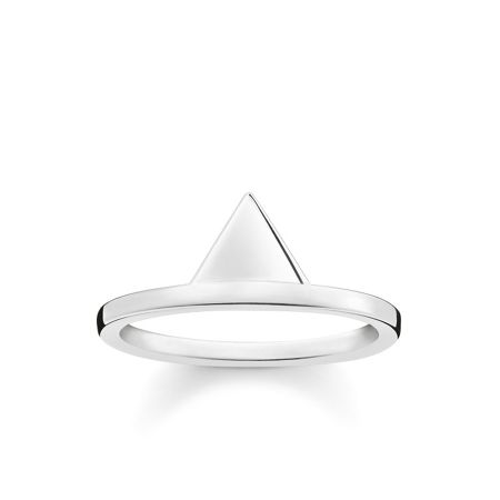Thomas Sabo Triangle sterling silver stacking ring