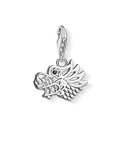 Charm club dragon charm pendant