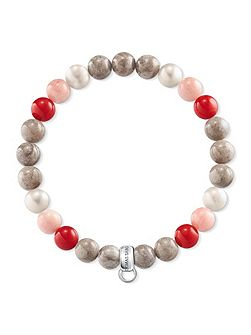Charm club multi-colour charm bracelet