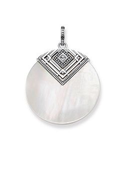 Mother of Pearl Africa Pendant