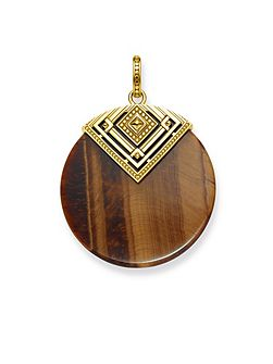 Tiger`s Eye Africa Pendant