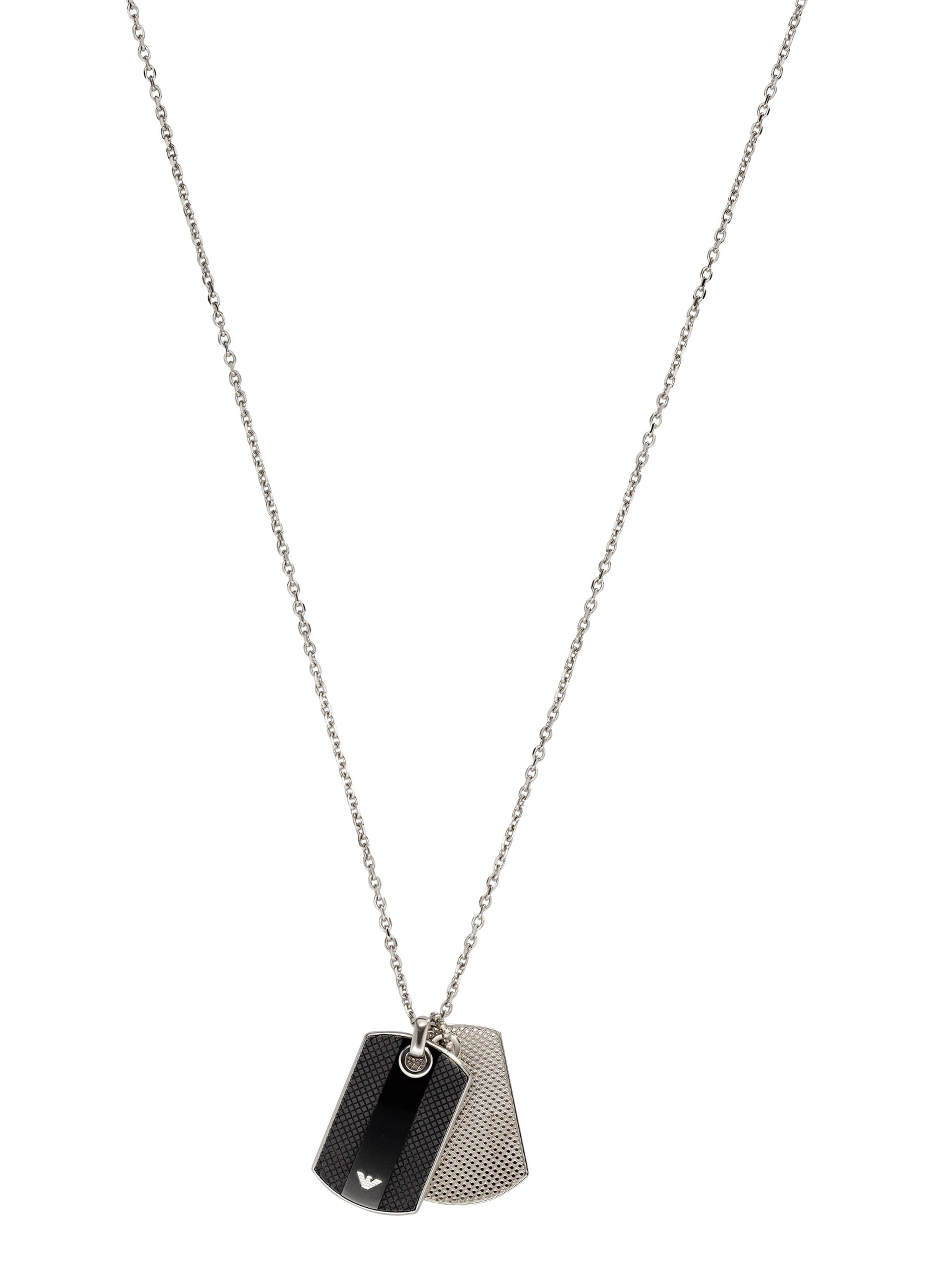 Emporio Armani Eg1542040 mens necklace Silver Metallic