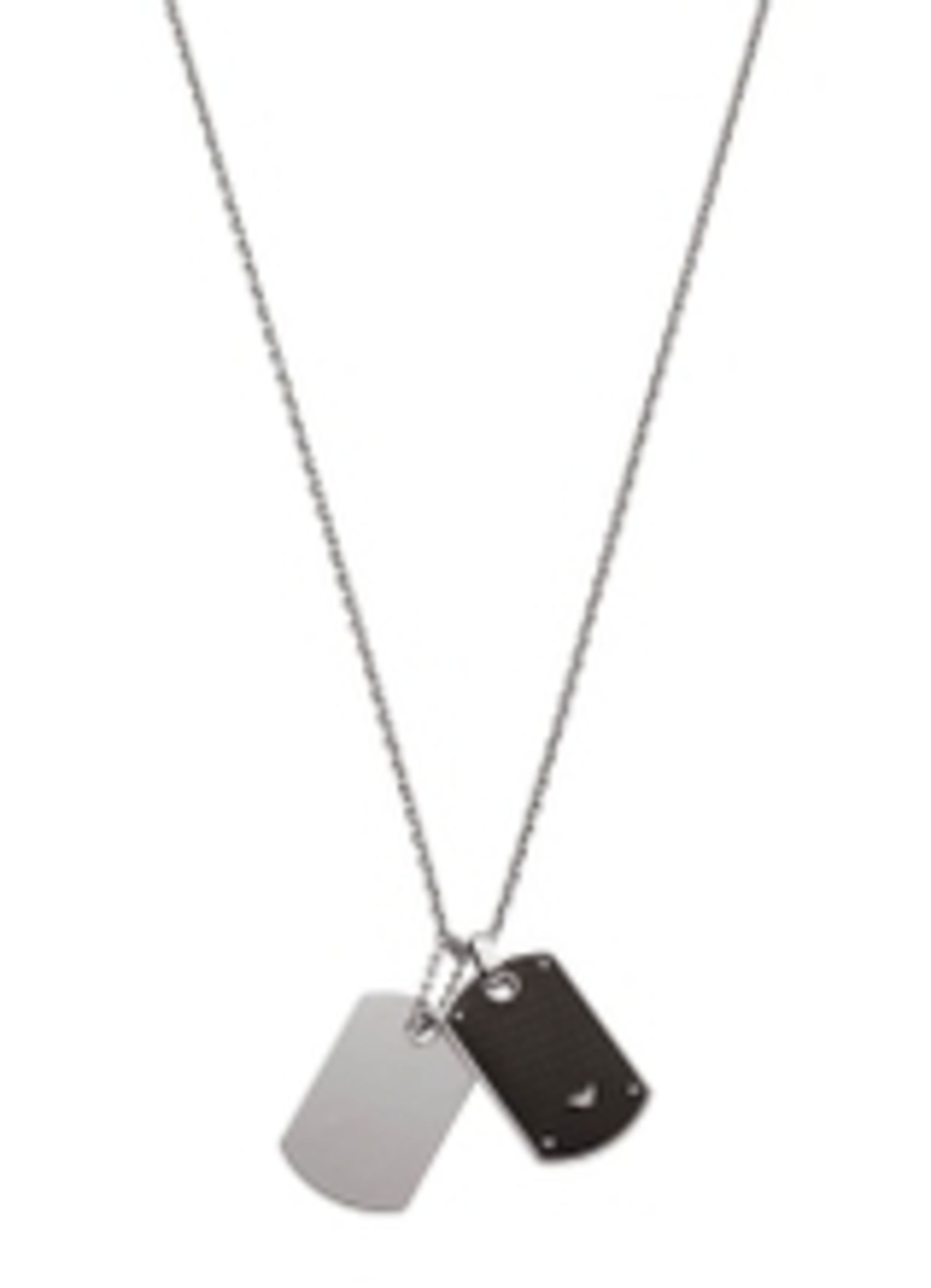 Emporio Armani Egs1601040 mens necklace Silver Metallic