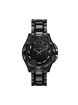KL1001 Karl 7 Black Mens Bracelet Watch