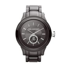 Karl Lagerfeld KL1207 Chain Gunmetal Mens Bracelet Watch