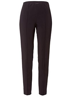 Stretch-Trousers with Creases